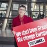 Fotoaktion in Berlin zur Unterstützung von SYRIZA in Griechenland