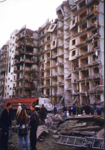 The 1999 Russian apartment bombings: the string of terrorist attacks which fueled Putin's road to power.