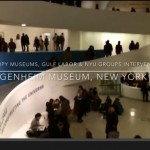 Video: Occupy Museums, Gulf Labor & NYU Groups Intervention at Guggenheim Museum, NYC : https://www.youtube.com/watch?v=Y5Amjcq9sZM