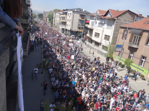 23 April protest
