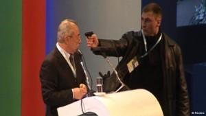 Ahmed Dogan's assassination attempt Source: Newtrend.Bg