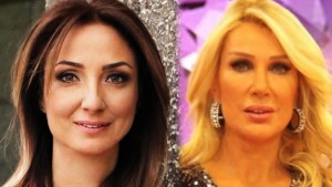 MP Aylin Nazlıaka vs. TV hostess Seda Sayan. Source: Hürriyet Newspaper