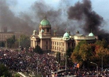It is 15 years to the day since the toppling of the Milošević regime. In Serbia there is much disillusionment with the results of the revolution.