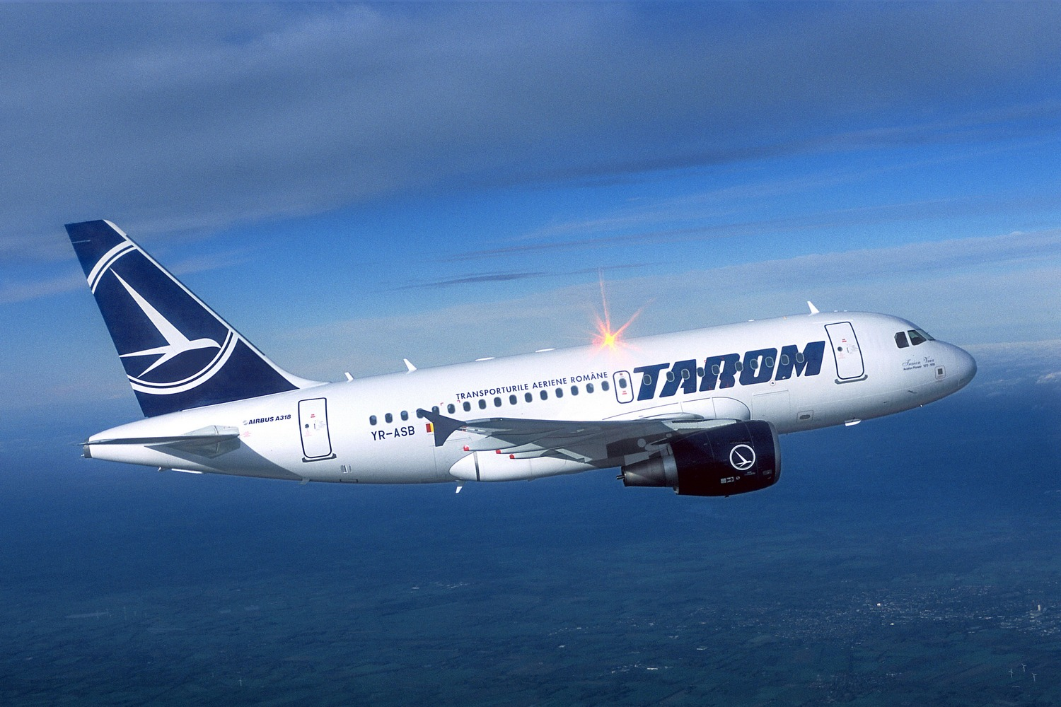 Tarom Airlines (Tarom). Official sayt.3