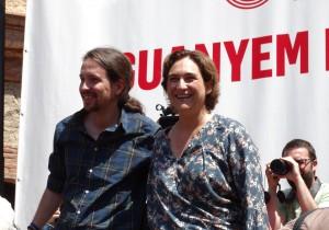 Iglesias sprijina pe Ada Colau la alegerile pt Barcelona